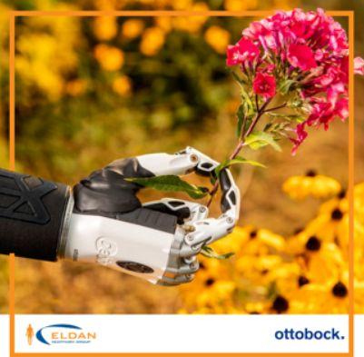 Bionic hand by Ottobock