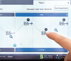 Agilent- AriaMx touch screen