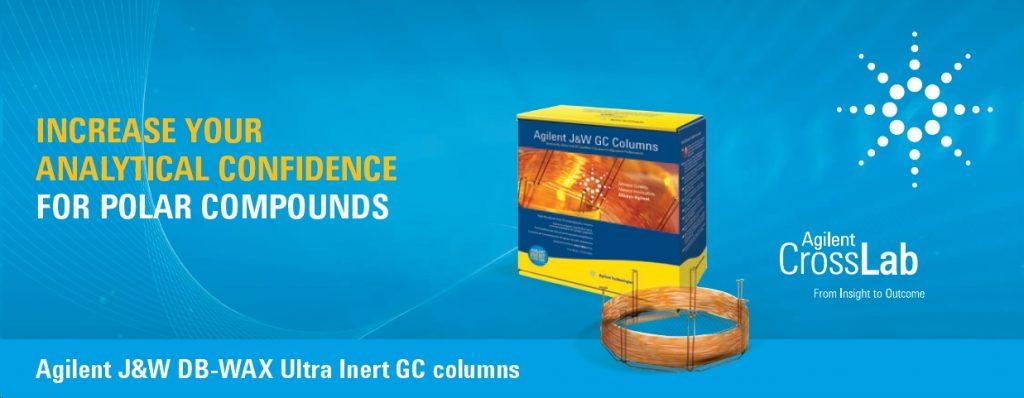 Agilent- DB-WAX UI GC columns banner